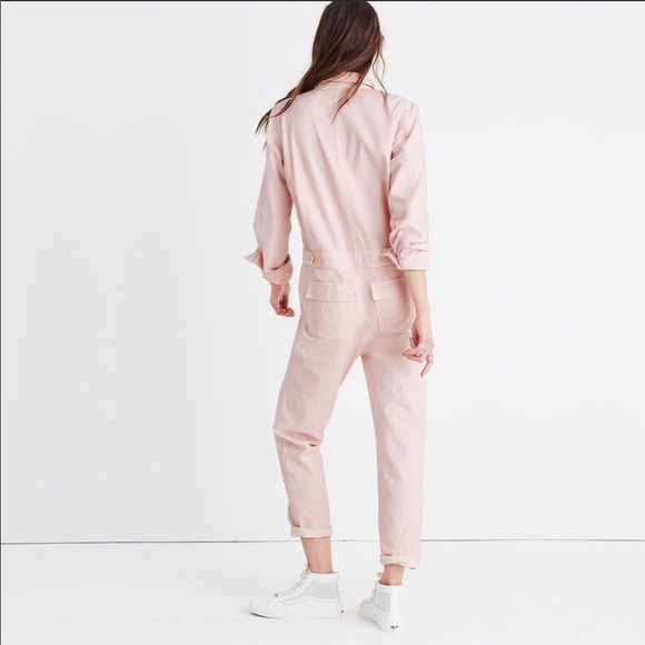 940b7d5f941 Madewell Pink Coveralls